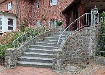Treppengeänder außen